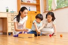家庭中的感统训练亲子小游戏