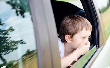 孩子晕车是感统失调吗?