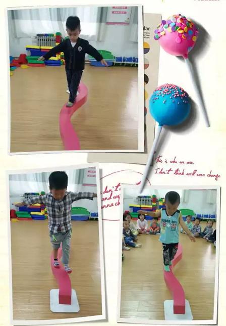 儿童S平衡板感统训练图