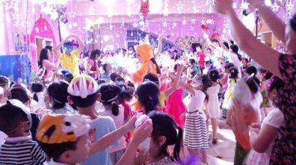 儿童化装舞会强化触觉功能的感统训练方法