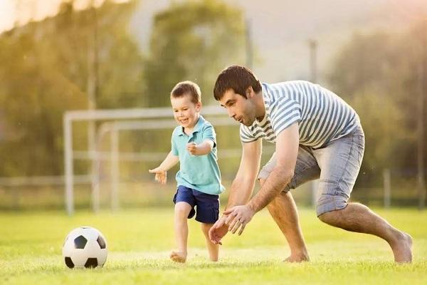 亲子运动是很好的感统训练的方法