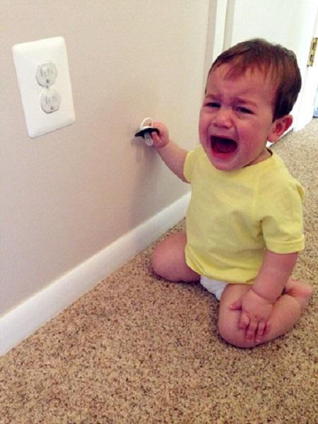爱哭的孩子