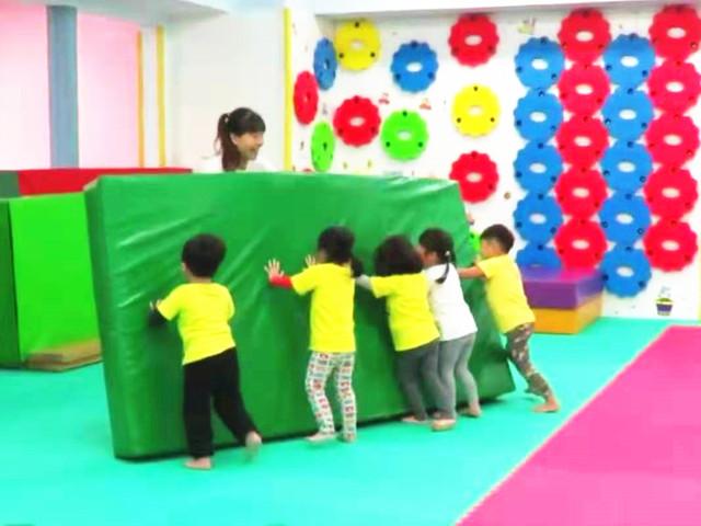 儿童感统训练课堂实景1