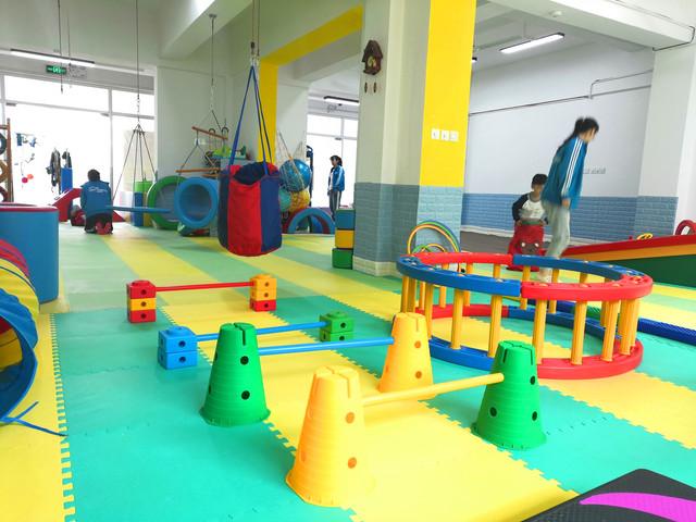 儿童感统训练课堂实景4