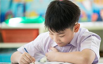 集中注意力写作业